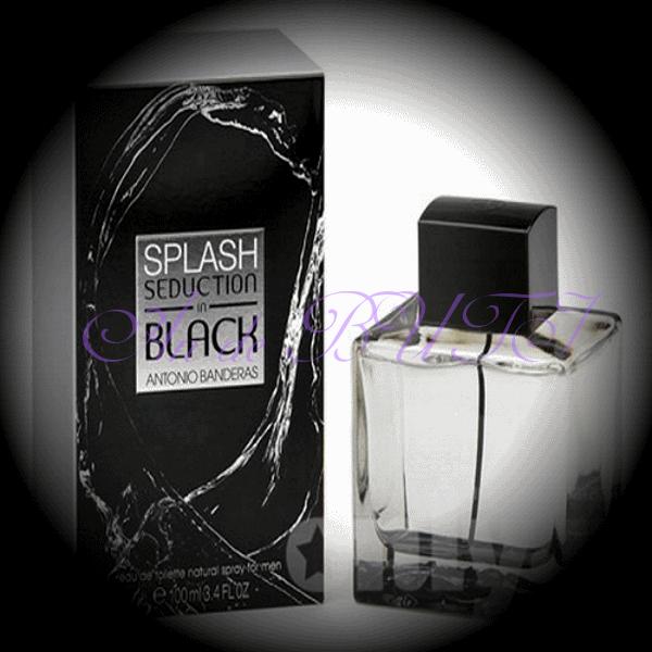 Antonio Banderas Splash Seduction In Black 100 ml edt