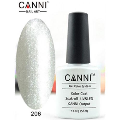 Гель-лак CANNI  7,3мл 206