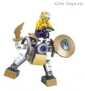 "Конструктор PRCK Ниндзя ""Робот Сливен"" 79071 С 43 дет."