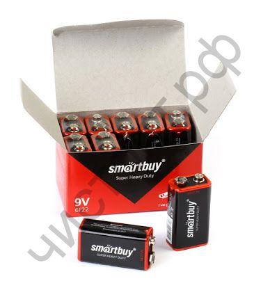 Smartbuy 6F22/1S (10) (крона)