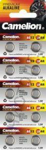 Camelion G 13 BL-10(357A/LR44/A76/для часов) (100)