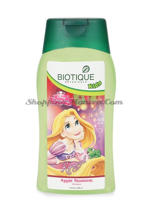 Биотик Дисней Принцесса Рапунцель детский шампунь без слез Яблочный цвет | Biotique Disney Princess Rapunzel Apple Blossom Shampoo