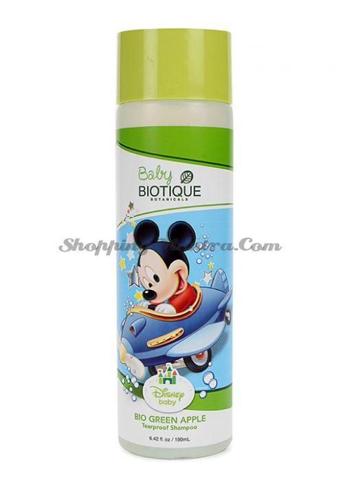 Биотик Дисней Микки Маус детский шампунь без слез Зеленое яблоко | Biotique Disney Mickey Mouse Bio Green Apple Tearproof Shampoo