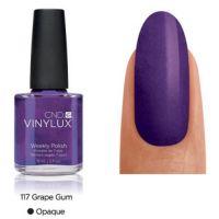 CND Vinylux Grape Gum 117 недельный лак, 15 мл