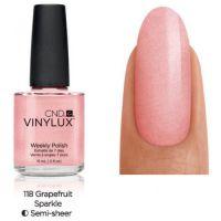 CND Vinylux Grapefruit Sparkle 118 недельный лак, 15 мл