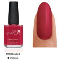 CND Vinylux Hollywood 119 недельный лак, 15 мл