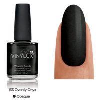 CND Vinylux Overtly Onyx 133 недельный лак, 15 мл