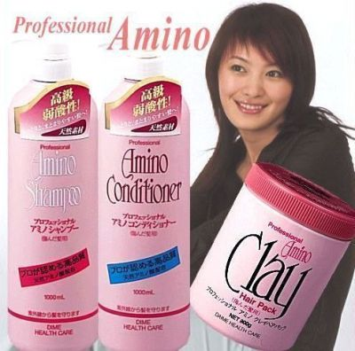 501033 Шампунь с аминокислотами для поврежденных волос, 1000 мл