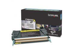 Тонер-картридж оригинальный Lexmark C748H1YG Yellow