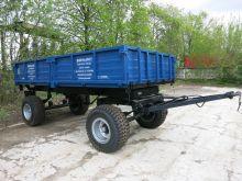 Прицеп тракторный самосвальный 2ПТСЕ-6,5 (усиленные оси , тормоза на 2 оси,  шина КФ-105)