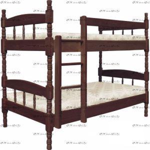 Кровать двухъярусная Скаут №ДИ