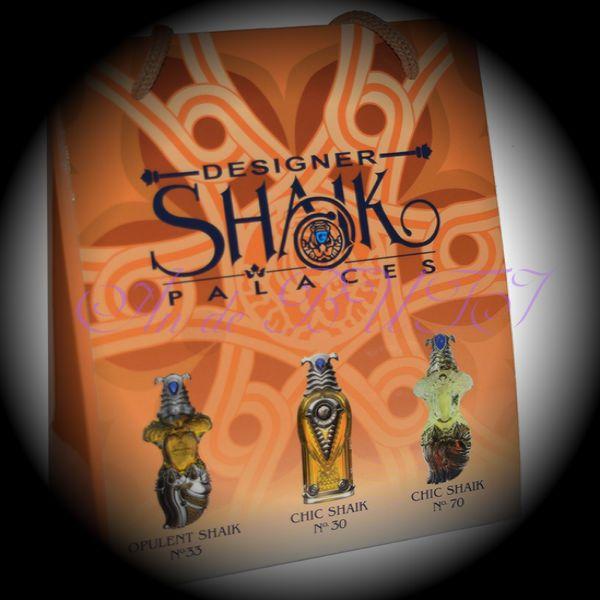 Набор Shaik 3 по 15 ml (33,30,70)