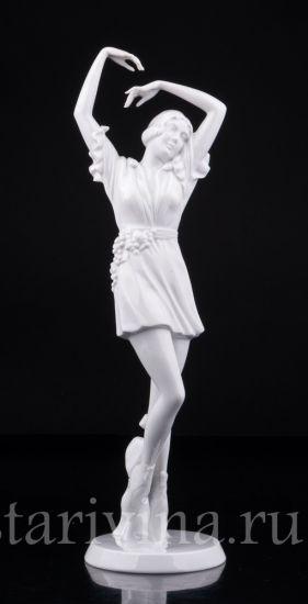 """Изображение """"Осень"""" балерина Ар Деко, Rosenthal, Германия, 1920-30 гг"""