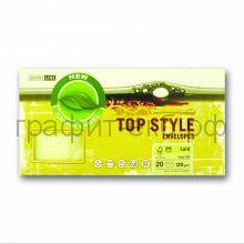 Конверт Smart Line Top Style laid ivory слоновая кость 120г/м2 20шт 9955/12059