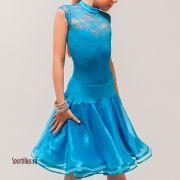 голубое платье для девочки