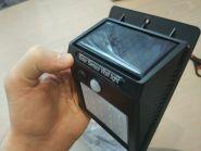 """Уличный светильник """"Энергия"""" на солнечной батарее"""