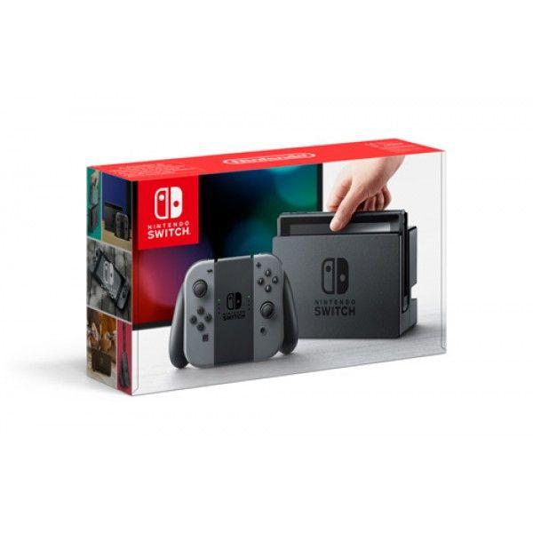 Игровая приставка Nintendo Switch (Grey)