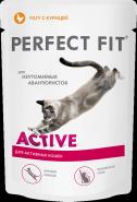 Perfect Fit ACTIVE Рагу с курицей для активных кошек (85 г)