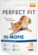 Perfect Fit IN-HOME Корм для домашних кошек с курицей (1,2 кг)