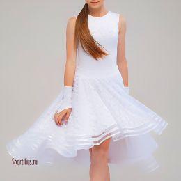 """Белое бальное платье """"Милан"""""""