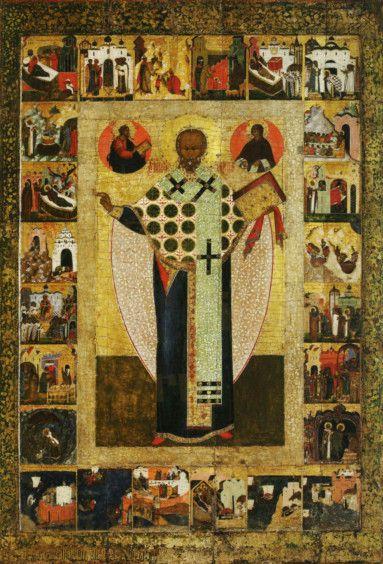 Икона Николай Зарайский (копия старинной)