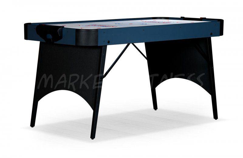 Аэрохоккей Blue Ice 5 ф черно-голубой, складной
