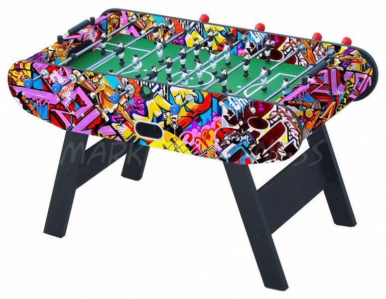 Настольный футбол кикер Leon 147x73x88 см, цветной