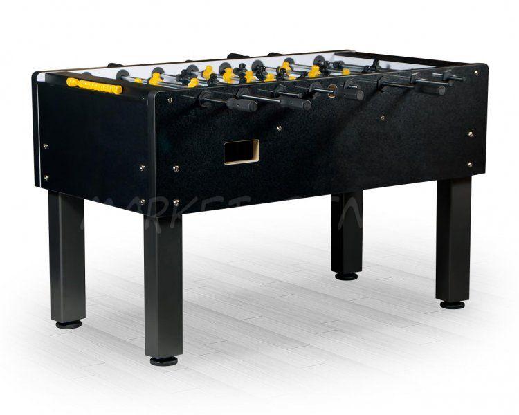 Настольный футбол кикер Marsel 144x76x90см, черный