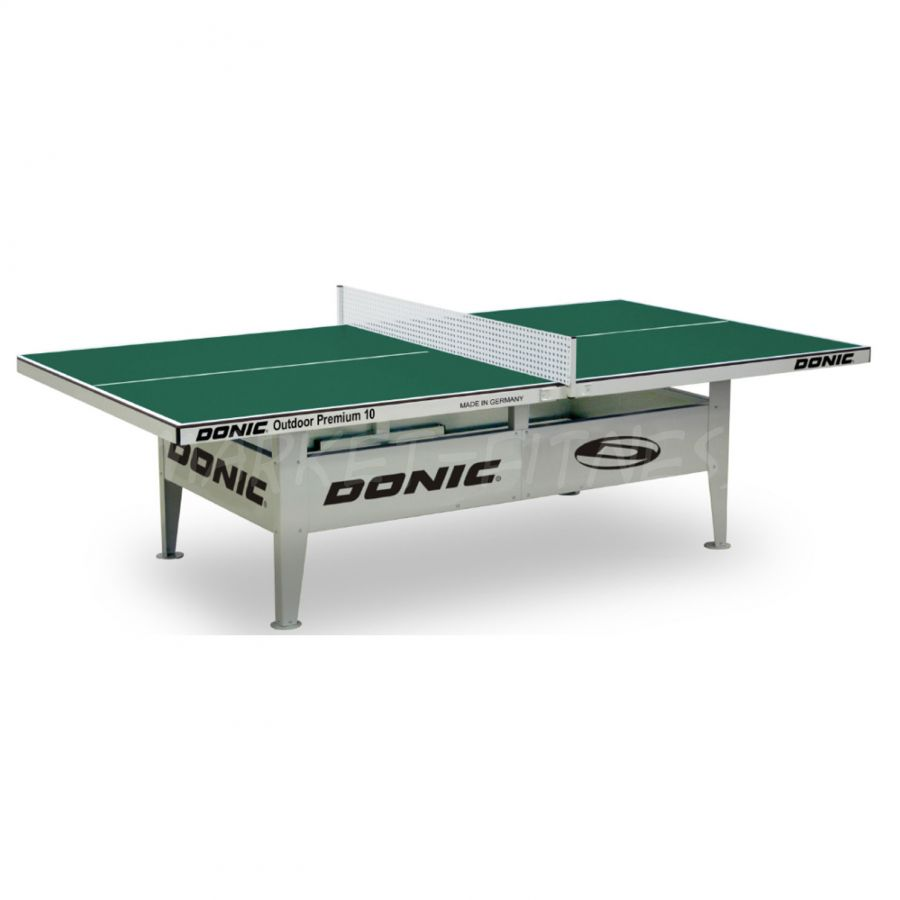 Теннисный стол DONIC OUTDOOR PREMIUM 10 GREEN