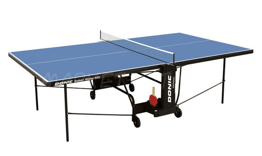 Теннисный стол DONIC INDOOR ROLLER 600 BLUE