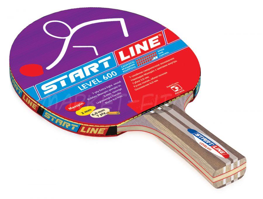 Ракетка Start Line Level 600 (анатомическая)