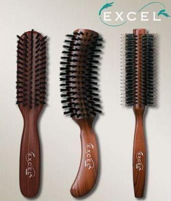 Щетки для пересушенный волос Vess Excel Mix Roll Brush