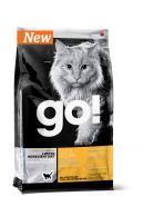 GO! Sensitivity + Shine Grain Free Duck Cat Recipe Беззерновой для котят и кошек с чувствительным пищеварением со свежей уткой 3,63 кг