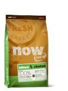 NOW FRESH Беззерновой корм для котят с индейкой, уткой и овощами (1,81 кг)