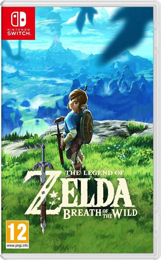 Игра The Legend of Zelda: Breath of the Wild (nintendo switch,русская версия)