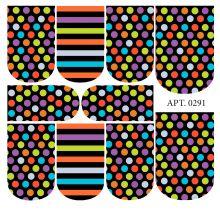 Слайдер-дизайн для ногтей № 0291