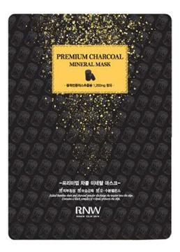 Корейская маска для лица очищающая с древесным углем MILATTE RNW Premium Charcoal Mineral MASK