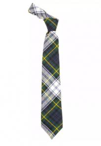 Истинно шотландский клетчатый галстук 100% шерсть , расцветка клан Гордон (парадный вариант)