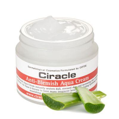 Корейский крем для лица увлажняющий Ciracle Anti Blemish Aqua Cream