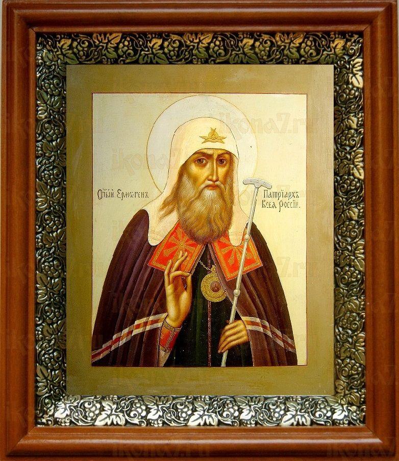 Егмоген, патриарх Московский (19х22), светлый киот