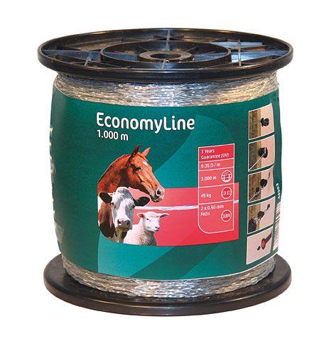"""Провод моно EconomyLine 2 мм на 1000 метров """"Dairy"""""""
