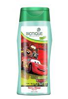 Детский гель для душа Биотик Дисней Пиксар Тачки Ягодный Шейк | Biotique Disney Pixar Cars Berry Shake Baby Body Wash