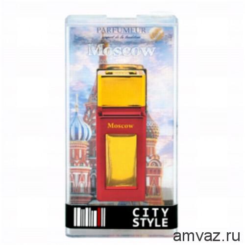 "Ароматизатор в дефлектор ""City Style"" Moscow"