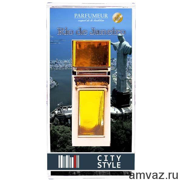 """Ароматизатор в дефлектор """"City Style"""" Rio de Janeiro"""