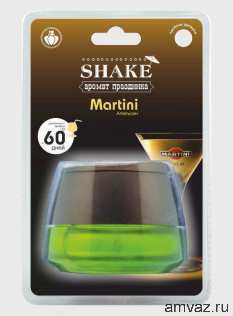 """Ароматизатор на панель банка """"Shake Martini"""" Апельсин"""