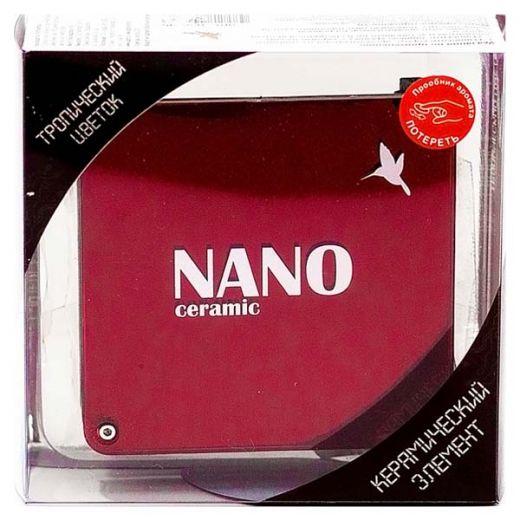 """Ароматизатор на панель """"Nano"""" Тропический цветок"""
