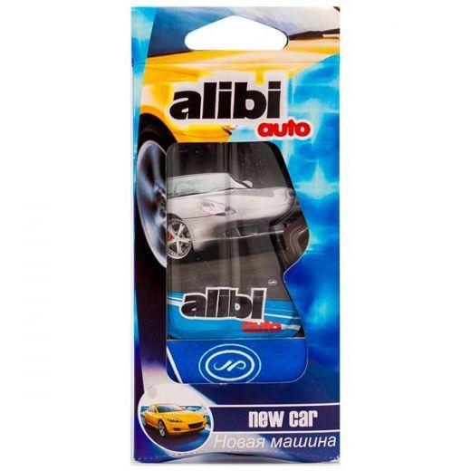 """Ароматизатор подвесной """"Alibi Auto"""" Новая машина"""