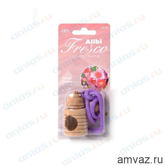 """Ароматизатор подвесной бочонок """"Alibi Fresco"""" Весенние цветы"""