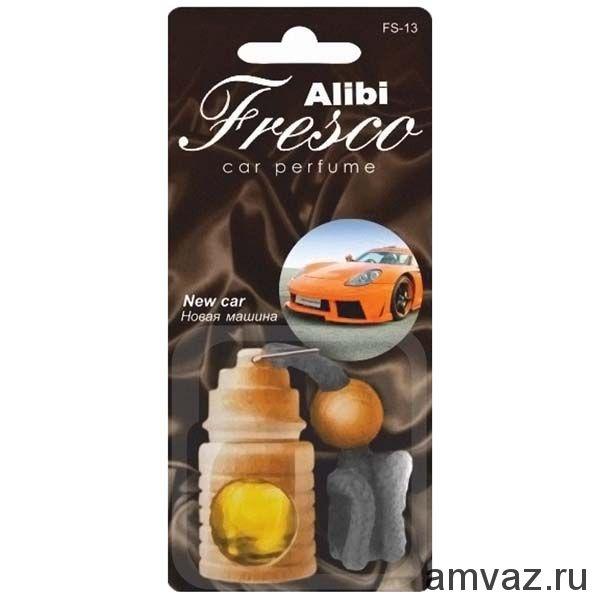 """Ароматизатор подвесной бочонок """"Alibi Fresco"""" Новая машина"""