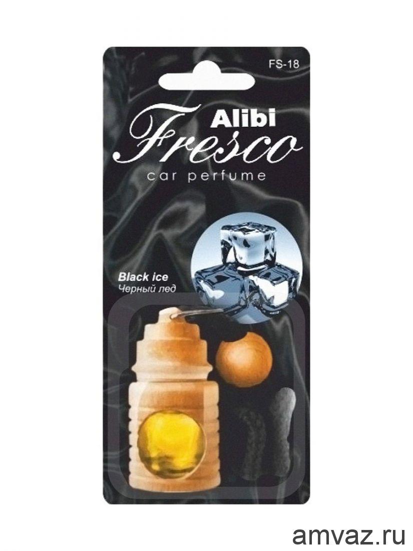 "Ароматизатор подвесной бочонок ""Alibi Fresco"" Черная линия"